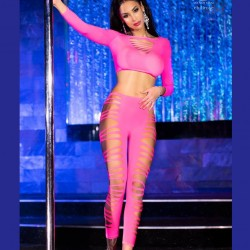 Sexy pink set CR-3654 wholesaler DBH Créations