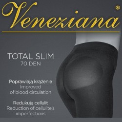 Total Slim 70 collants Veneziana grossiste DBH Creations