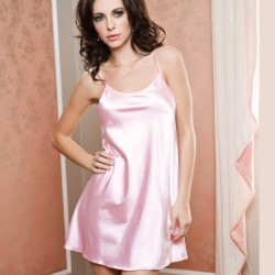 Nuisette satin rose ICollection grossiste DBH Créations