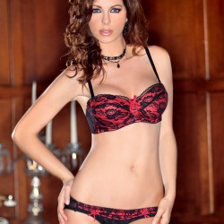 Black an red set 7707 ICollection wholesaler DBH Créations