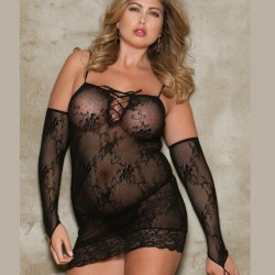Fishnet dress 8624X ICollection wholesaler DBH creations