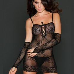 Fishnet dress 8624 ICollection wholesaler DBH creations