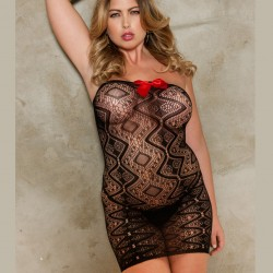 Fishnet dress 8623X ICollection wholesaler DBH creations