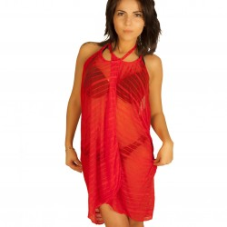 Robe pareo rouge grossiste DBH Créations