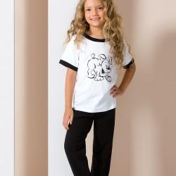 Pyjama chien noir et blanc