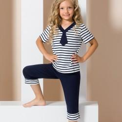 Pyjama junior marin