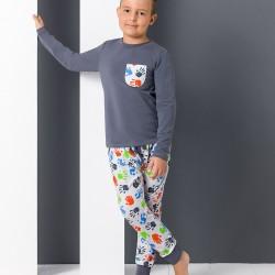 Pyjama junior empreintes de mains