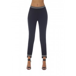 Marisa legging black and silver Bas Bleu wholesaler DBH Creations