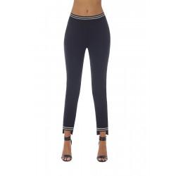 Marisa legging noir et argent Bas Bleu grossiste DBH Creations