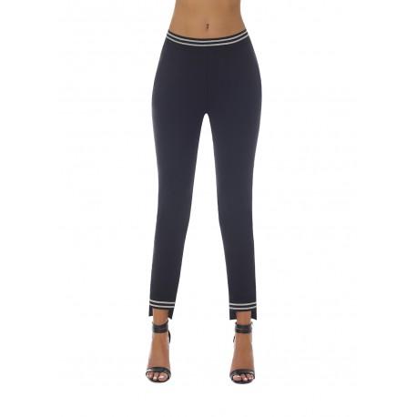 Marisa legging black and silver Bas Bleu wholesaler DBH Creations