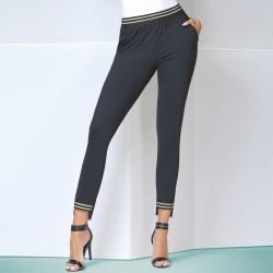 Marisa legging noir et or Bas Bleu grossiste DBH Creations