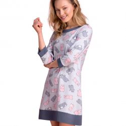 Short nightdress Passion PY108 wholesaler De Bas En Haut Creations