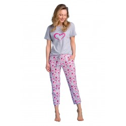 Pyjamas Passion PY114 wholesaler De Bas En Haut Creations