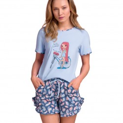 Pyjama Passion PY124 wholesaler De Bas En Haut Creations