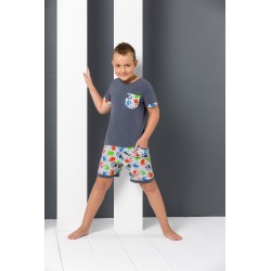 Hand print junior pyjamas
