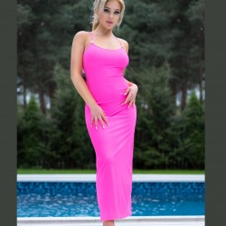 CR-4379 Long beach dress Chilirose wholesaler De Bas En Haut Creations