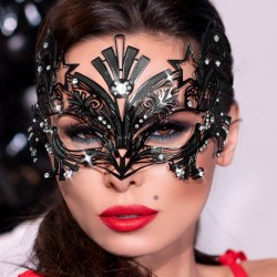 Black metal mask CR-4325 Chilirose wholesaler De Bas En Haut Créations