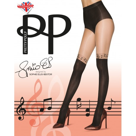 Music notes tights PNATE4 Pretty Polly wholesaler DBH Creations