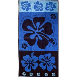 Multi hibiscus beach towel wholesaler DBH Créations