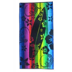 Multicolor surf beach towel wholesaler DBH Créations