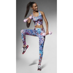 Legging sports Caty90 Bas Bleu wholesaler DBH Créations
