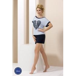 Blue short pyjamas