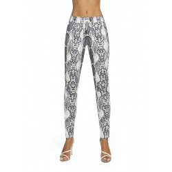 Naya pantalon serpent gris Bas Bleu grossiste DBH Creations