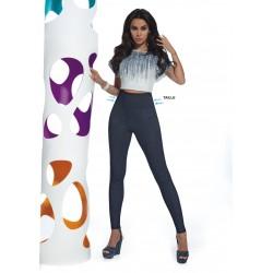 Blair legging taille haute jean Bas Bleu grossiste DBH Creations